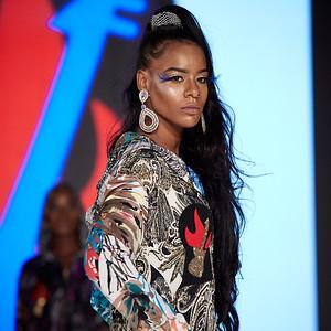 The Society Fashion Week Los Angeles 4:30 Show October 13, 2018  Designer - Burning Guitars