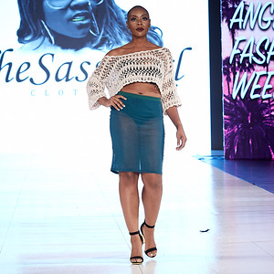 Walk Fashion Show, Los Angeles, October 14, 2018  Designer - The Sassa Cxl  Model - Elissia Mathews @elissiavonne