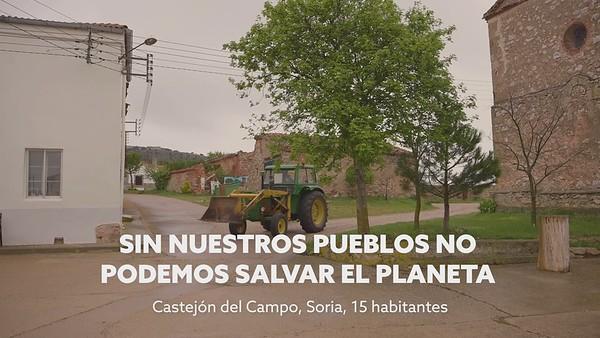En el Día de la Tierra, Greenpeace presenta el informe Habla Rural desde Castejón del Campo, Soria (Vídeo editado)