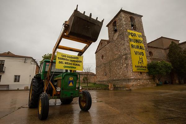 En el Día de la Tierra, Greenpeace presenta el informe Habla Rural desde Castejón del Campo, Soria