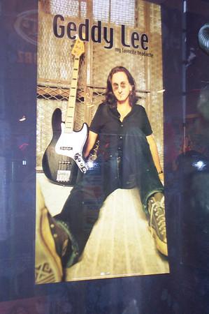 Meeting Geddy Lee November 2000