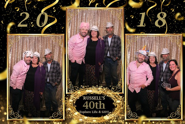 RUSSELL'S 40TH BIRTHDAY