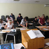 Seminar at college in Krasnodar