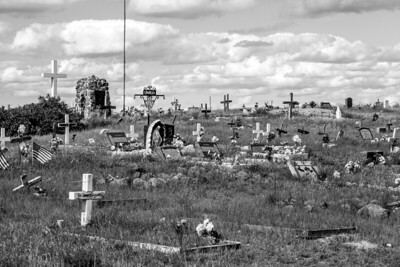 Cemetery near the Rose Mission church in Montana along Hwy 2 MT IMG_0341