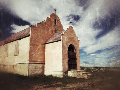 Rose Mission Church Catholic Hwy 2 US2 Montana  TZLN4688