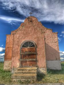 Rose Mission Church Catholic Hwy 2 US2 Montana  UBDUE9365