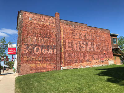 wall sign advertising ghost sign Tower MN IMG_1689