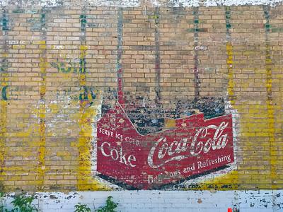 Coca Cola wall sign Cloquet MN IMG_7492