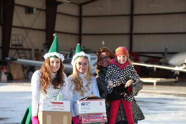 Santa Angel Flight - Dec 2013