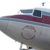 Nose art on the DC-3.