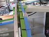 """I cut down some scrap angle material to act as a guide to make sure the bubble is in the right location on the roll bar. The little black spacers are 1/8"""" diameter screen spline material that I had laying around. The rear edge of the forward canopy bubble will sit on these and set the required gap for the sikaflex on the canopy frame."""