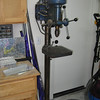 Floor standing Drill Press. This is a vintage Craftsman model from the early 60's. Very solidly built and heavy.