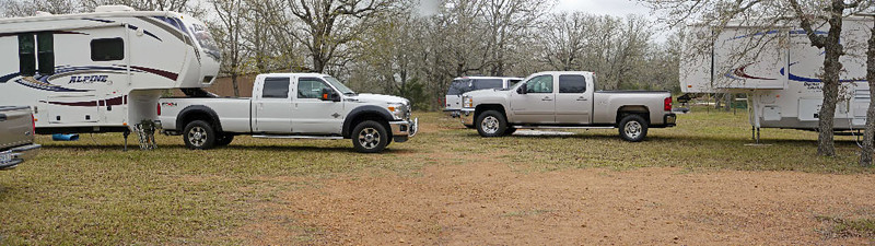 Dueling rigs:  Ford vs. Chevy