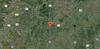 Google map of Betty's Ranch location between Houston & Austin.