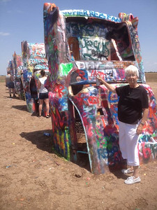 Cadillac Ranch on Route 66