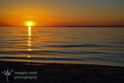 20140524-Sunset-good-harbor-Lake-Michigan-4