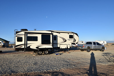 Campground outside Great Sand Dunes
