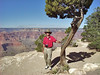 Chris at the Grand Canyon  Grand Canyon: