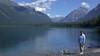 Glacier National Park, Jan at Lake MacDonald