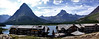 Glacier National Park, St. Mary's Lake Panorama