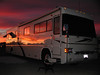 Brenda, AZ Visit and Jeep Tour: Sunset on RV