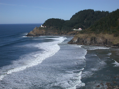 Heceta Head Lighthouse  Overnight at the Heceta Head Lighthouse, Florence, OR: