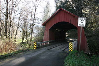Oregon:  Covered Bridge