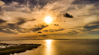 Sunset over Florida Keys, Bahia Honda