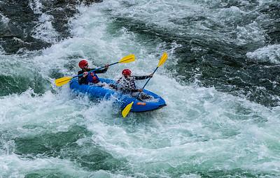 Rafting Big Kahuna Falls Snake River WY
