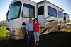 Ronnie & Jan at the RV Park just outside of Winnipeg, MB