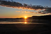 A wonderful sunset over Lake Superior at Neys Provincial Park