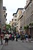 Tourist in the street of Quebec City