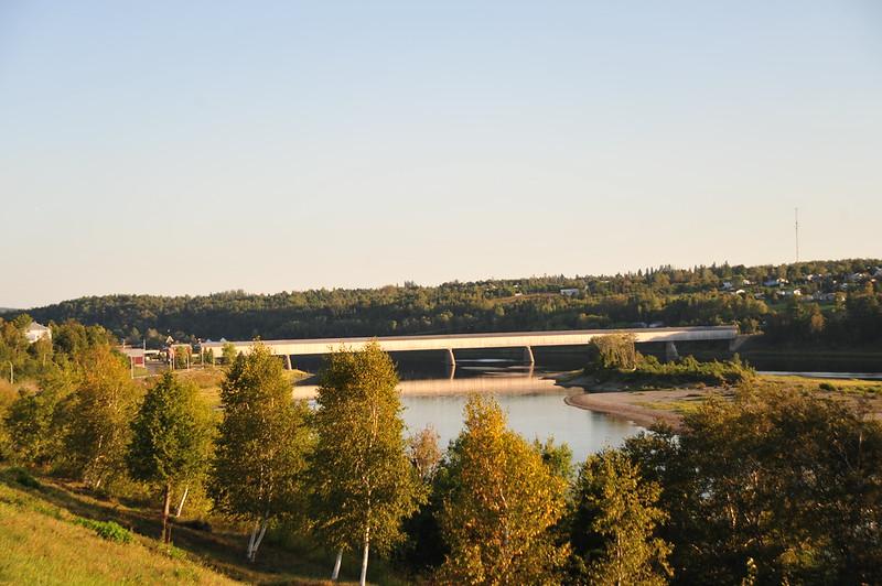 The world's longest covered bridge in Hartland, New Brunswick.