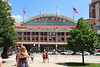 The entry area to the Navy Pier in Chicago