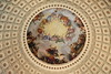 painting in the dome of the U.S. Capital building