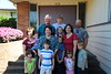 The Pior family members in Chinook, WA