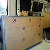 drawer cabinet installed