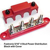 Power Distribution Bus Bar - Red