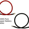 2 AWG Pure Copper Battery Cables