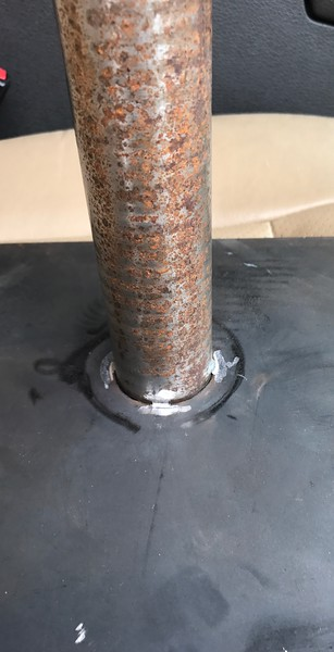Grill Lift Base and Shaft