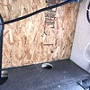 06. Door Side of Chase - 2 vinyl lines for black tank flush relocated.