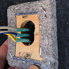 02. Back of the 3-way light switch for the bay lights.