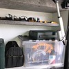 19.  Door Side Cubby - Tool Storage and Battery Charging