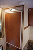 Roomy 5 cu ft fridge with freezer.