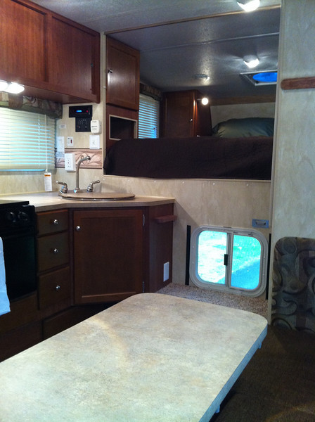 "Comfortable, roomy, and still has ""new camper smell""."
