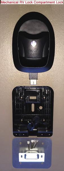 RV Lock Compartment Lock Installation