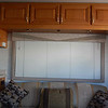 203-Cabinets above the jackknife sofa bed