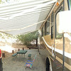 Awning extended