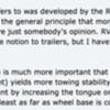Wheel base to Trailer wheel base