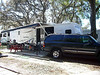 Bay Aire Campsite, Palm Harbor Flordia with new Forest River 321KFD